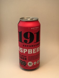 1911 - Raspberry Cider (16oz Can)